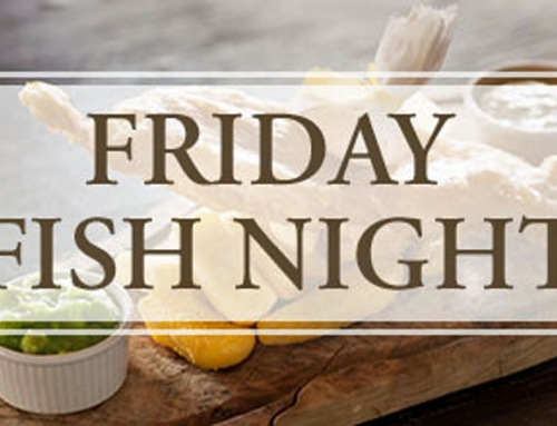 April Prize Draw and Good Friday Fish Night