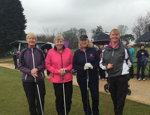 Lady Captain Drives In