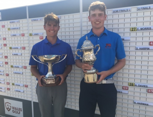 Archie wins Welsh Amateur Championships